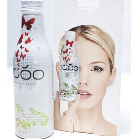 Ocoo The Beauty Drink for the week 7 x 250ml  still in glass