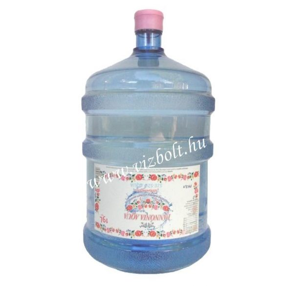 Pannónia Aqua pH8,1 natural mineral water 19l