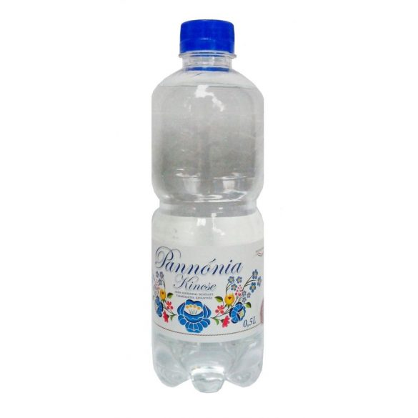 Pannónia Kincse pH7,9 natural mineral water 0,5l sparkling in PET bottle