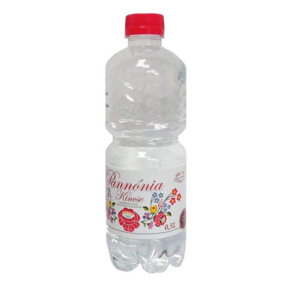 Pannónia Kincse pH7,9 natural mineral water 0,5l still in PET bottle