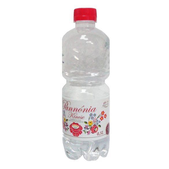 Pannónia Kincse pH7,9 natural mineral water 0,5l still in PET bottle