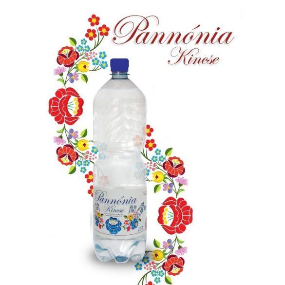 Pannónia Kincse pH7,9 természetes dús ásványvíz 1,5l