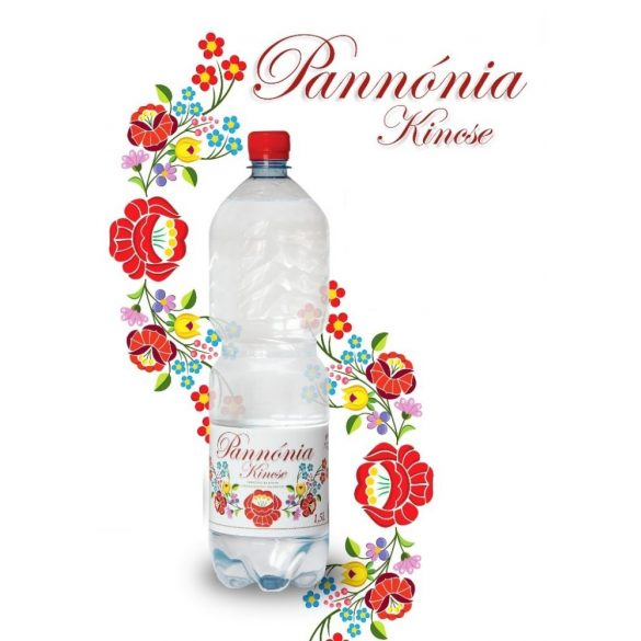 Pannónia Kincse pH7,9 natural mineral water 1,5l still in PET bottle