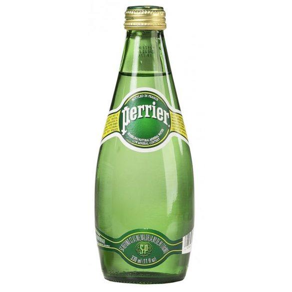 Perrier 0,33l szénsavas ásványviz üvegben