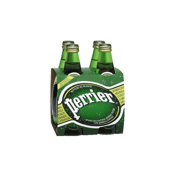 Perrier mineral water 0,33l sparkling in glass