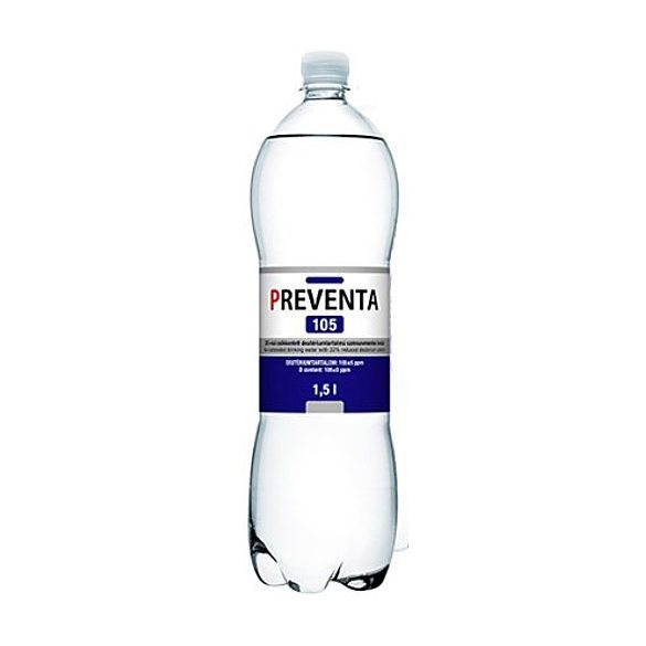 Preventa-105 reduced deuterium 1,5l sparkling water