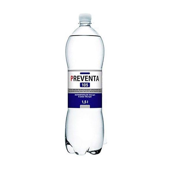 Preventa-105 csökkentett deutériumtartalmú 1,5l mentes víz