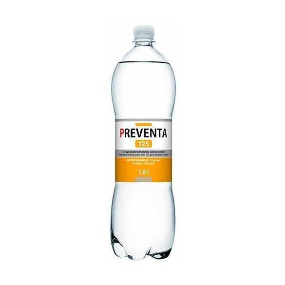 Preventa-125 csökkentett deutériumtartalmú 1,5l mentes víz