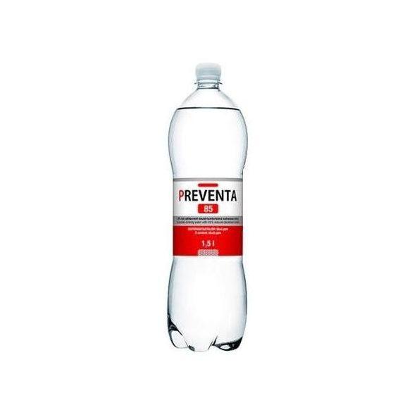 Preventa-85 csökkentett deutériumtartalmú 1,5l szénsavas víz