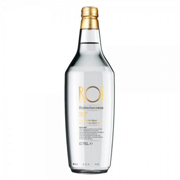 Roi premium water 0,5l gold glas bottle