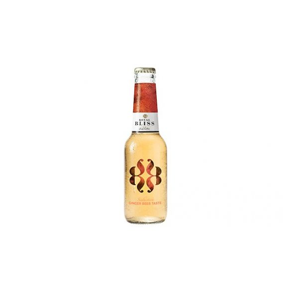Royal Bliss Ginger - gyömbérsör ízesítésű szénsavas üditőital (alkoholmentes)