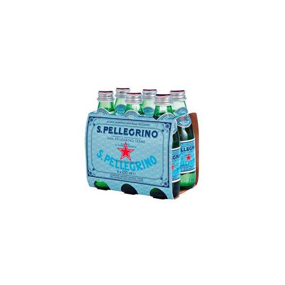San Pellegrino 0,25l szénsavas ásványvíz üvegben