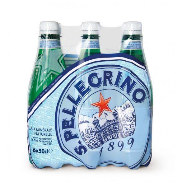 San Pellegrino mineral water 0,5l sparkling in PET bottle