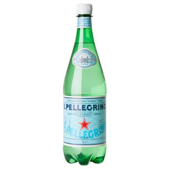 San Pellegrino mineral water 1l sparkling in PET bottle