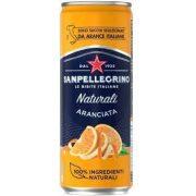 San Pellegrino Aranciata (narancs) 0,33 dobozban