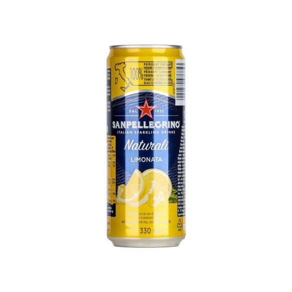 San Pellegrino Limonata (citrom) 0,33 dobozban