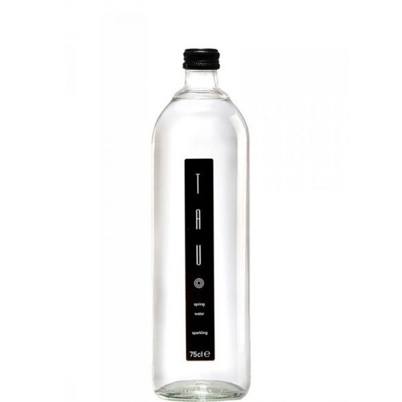 Tau spring water 0,75l sparkling in glass