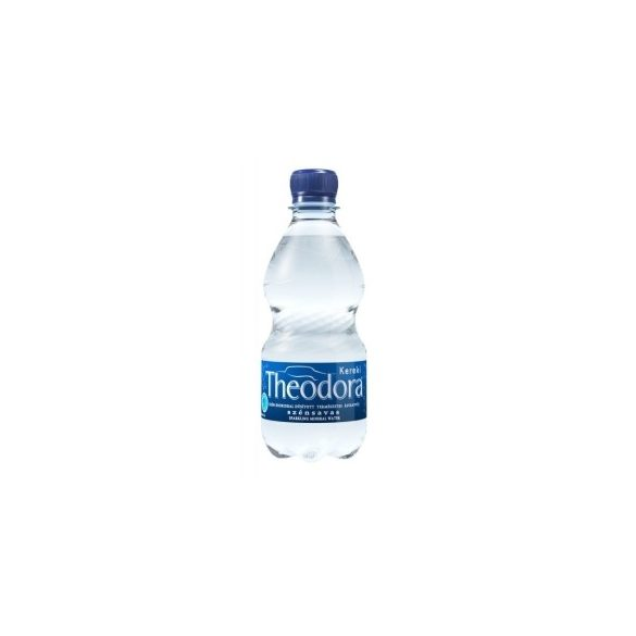 Theodora natural mineral water 0,33l sparkling in PET bottle