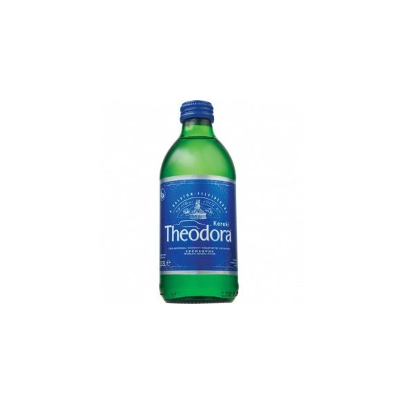Theodora natural mineral water 0,33l sparkling in glass