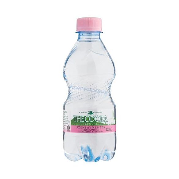 Theodora natural mineral water 0,33l still in PET bottle