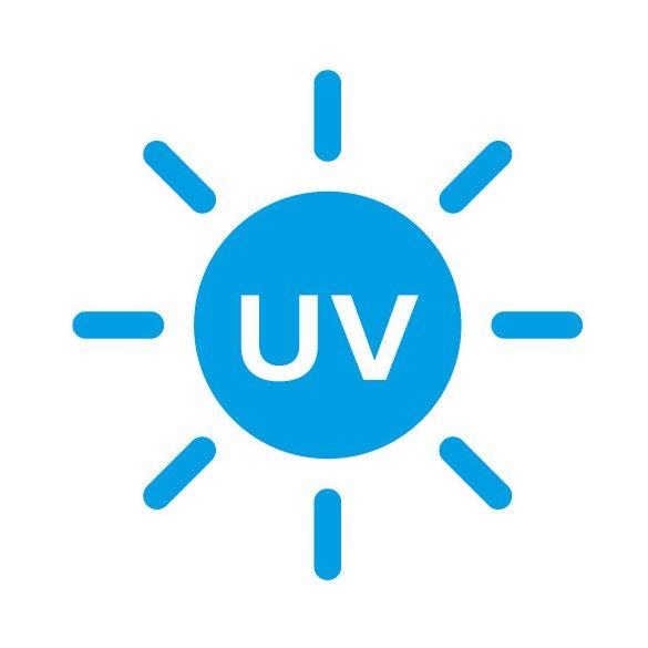 UV VT20D digitális alsó (rejtett) ballonos vízadagoló berendezés UV led lámpával ezüst fekete színben