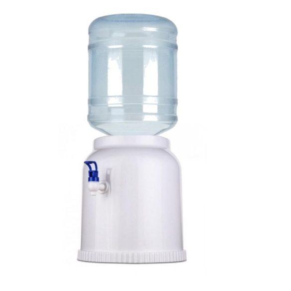 V17H fehér ballonos asztali vízadagoló