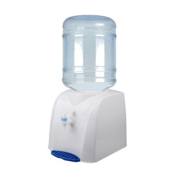V19H WHITE TABLE TANK water dispenser with drip tray
