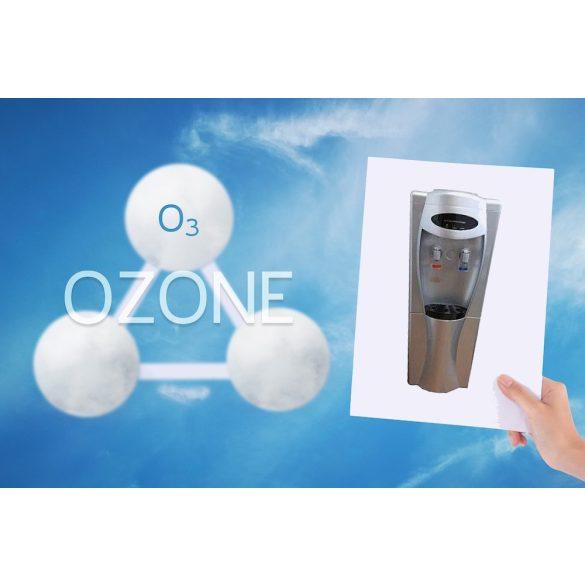 V208OS ezüst ballonos vízadagoló berendezés ózon generátorral