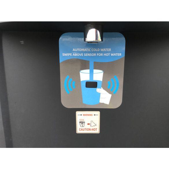 V305W UV alsó ballonos fekete érintésmentes (szenzoros) vízadagoló berendezés