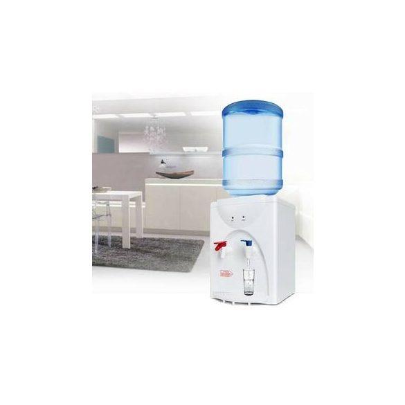V62EW fehér asztali ballonos vízadagoló berendezés