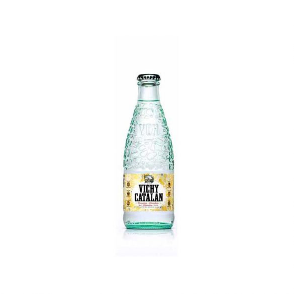 Vichy Catalan mineral water 1l sparkling in glass