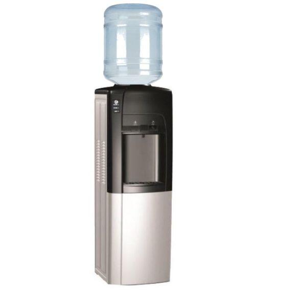 Bérelhető normál vízadagoló fekete+ezüst színben