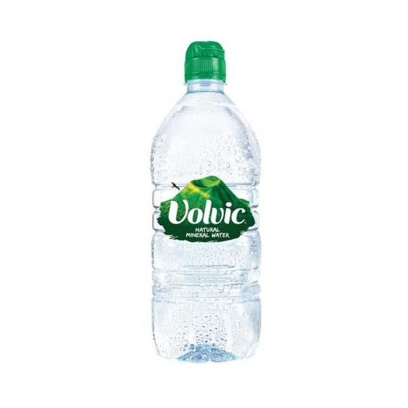 Volvic 1l natural mineral water with sports cap