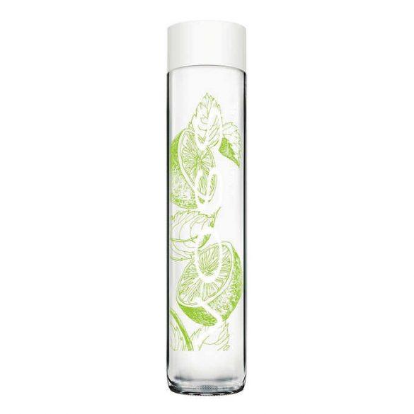 Voss 0.375l lime-menta ízesítésű szénsavas ásványvíz üvegben