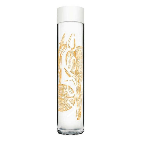 Voss 0.375l mandarin-citromfű ízesítésű szénsavas ásványvíz üvegben