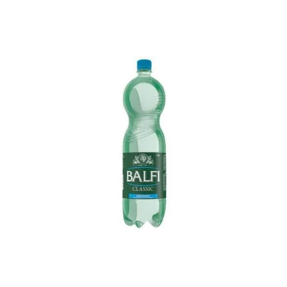 Balfi mineral water 1,5l sparkling in PET bottle
