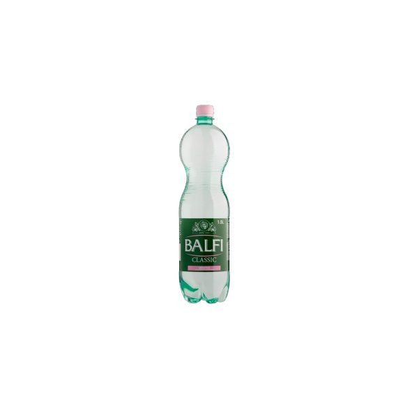 Balfi mineral water 1,5l still in PET bottle