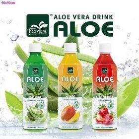 Tropical Aloe Vera drinks