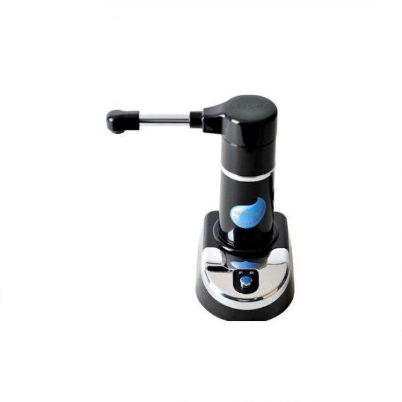 Elektromos pumpa vízszűrővel(USB+230V) 19l ballonhoz fekete