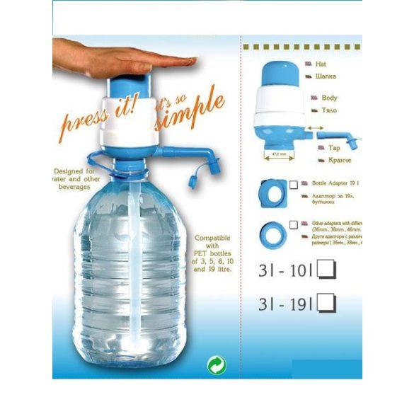 Kézi pumpa EMP (manuális) 5l és 19l ballonhoz