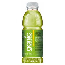 Ganic Vitaminwater-Happiness- Pineapple, Kiwi, Physalis 0,5l mentes ásványvíz PET palackban