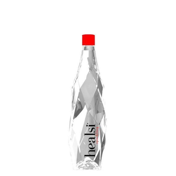 Healsi Water Diamond Bottle Crystal 0,85l szénsavas ásványvíz üveg palackban