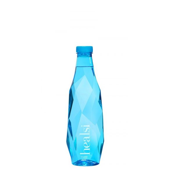 Healsi Water Diamond Bottle Blue 0,5l mentes ásványvíz PET palackban