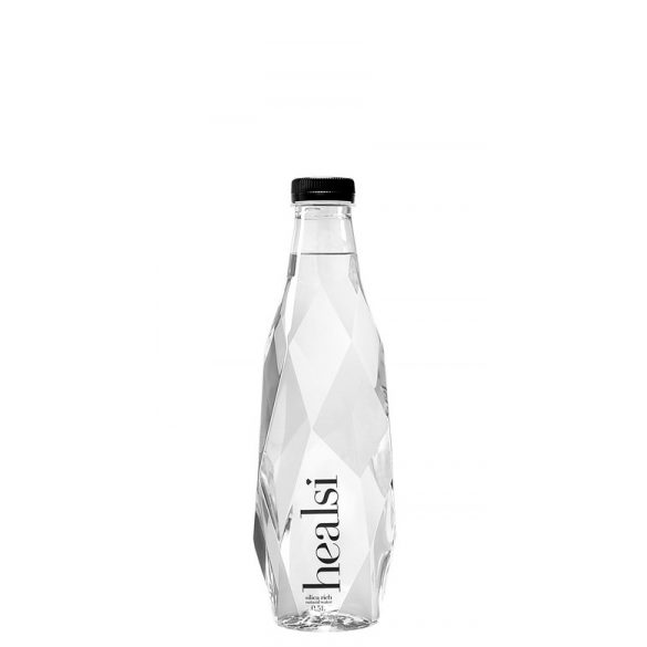 Healsi Water Diamond Bottle Crystal 0,5l mentes ásványvíz PET palackban