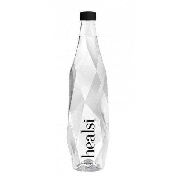 Healsi Mineral Water Diamond Bottle Crystal 0,85l still in glass