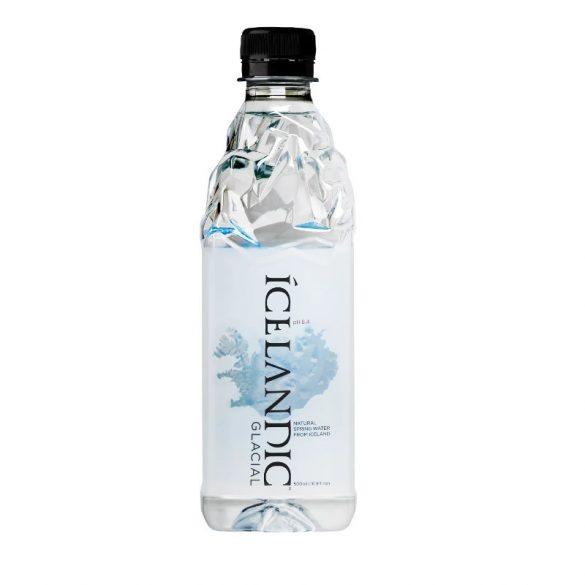 Icelandic Glacial Water 0,5l mentes forrásvíz  PET palackban