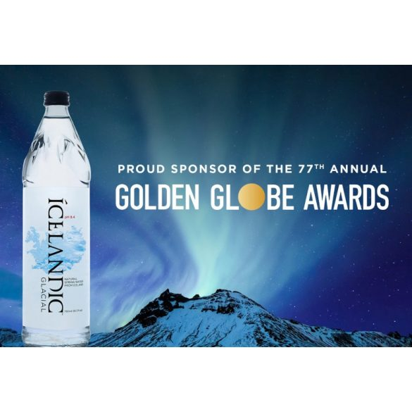 Icelandic Glacial Water 0,75l sparkling in glas bottle