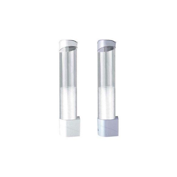 Pohár tartó-adagoló mágneses talppal 2 dl pohárhoz