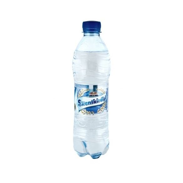Szentkirályi  pH7,4 natural mineral water 0,5l sparkling in PET bottle