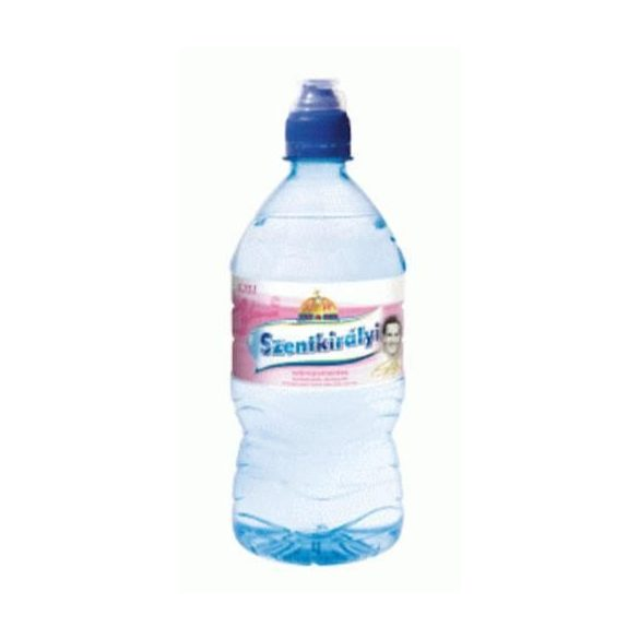 Szentkirályi  pH7,4 natural mineral water 0,75l still in PET bottle with sports cap